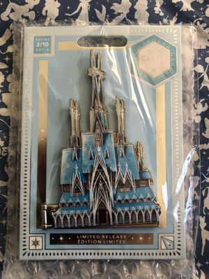 Brand New Disney Frozen Castle Pin Arendelle Limited Edition Very limited Never been open and have proof of purchase Asking $75 OBO for Sale in Huntington Park, CA