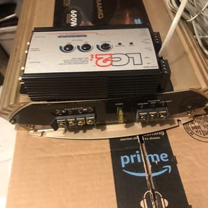 Pyramid pb 480 amplifier + LC2i Booster for Sale in Gurnee, IL