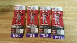 8 Tickets Toros de Tijuana Sat & Sunday Games for Sale in Chula Vista, CA