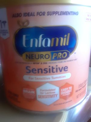 Enfamil Neuro pro Sensitive formula case's, 6 of the 8oz cans in each case for $30 for Sale in Escondido, CA
