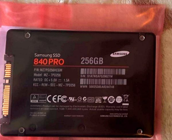 Samsung Ssd's (2.5 Inch) for Desktops, Laptops, Gaming Consoles, Etc