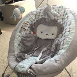 Fisher Price Monkey Deluxe Bouncer for Sale in Gallatin, TN