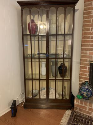 Glass display cabinet for Sale in Austin, TX