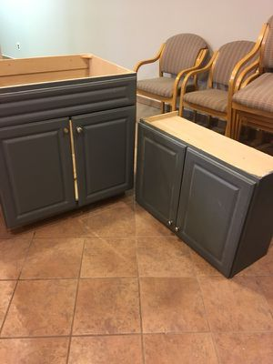 Need gona ASAP best offer Cabinets left over from project need gone ASAP for Sale in Dearborn, MI