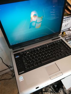Toshiba Core 2 Duo Laptop Computer Windows 10 WiFi DVDRW 14.1 inches Screen Size 100% Tested Working for Sale in Queens, NY