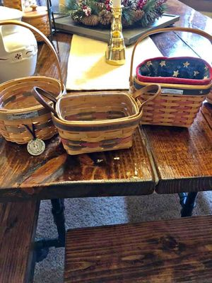 Rare Longaberger Americana Baskets for Sale in Toronto, OH