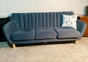 Urban outfitters mid century Scandinavian sofa for Sale in Traverse City, MI