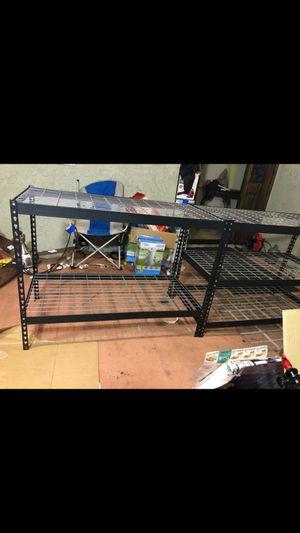 Heavy Duty Steel Shelving with wire decks for Sale in Fontana, CA