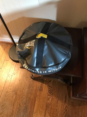 Speed bag floor weight boxing for Sale in Falls Church, VA