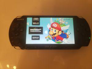 Modded PSP 3000 w/ over 1000 Games (PSP, PS1, Sega Genesis, N64, Gameboy Color & Advance and Super Nintendo Games) for Sale in Riverside, CA