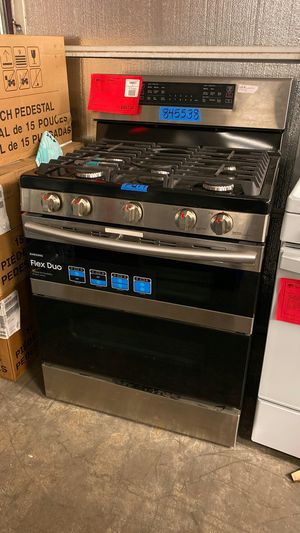 New Samsung Stainless Steel Double Oven Gas Range! 1 Year Warranty for Sale in Chandler, AZ