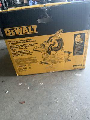 Brand new dewalt miter saw dws780 for Sale in West Jordan, UT