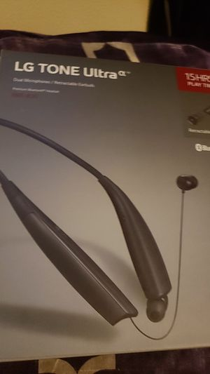 LG tone ultra bluetooth headphones for Sale in Portland, OR