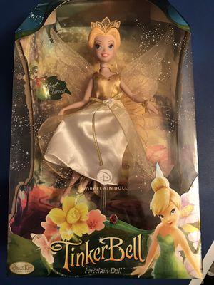SALE!! RARE NIB Disney Keepsake Tinkerbell Queen doll for Sale in Reading, PA