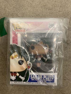 Sailor Moon Sailor Pluto Pop! Vinyl Figure #296 for Sale in Garden Grove, CA