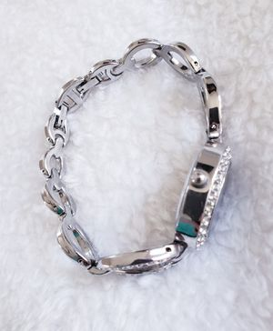 Beautiful womens Sterling Silver and CZ Quartz watch for Sale in Surprise, AZ