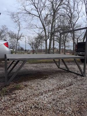 Raised aluminum bow fishing deck for Sale in Highlands, TX