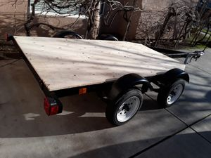 Utility trailer new everything for Sale in Hughson, CA