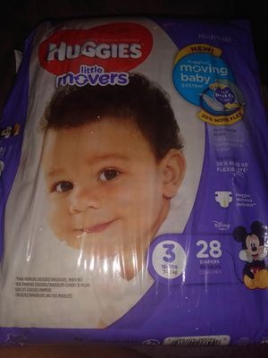 2pks Huggies little movers for Sale in Austin, TX