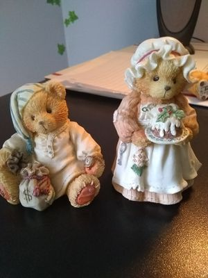 Cherished teddies, Mrs. Cratchit and Scrooge for Sale in Evesham Township, NJ
