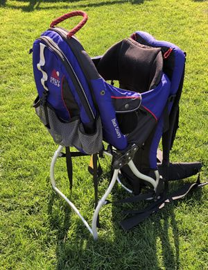 Kelty Kids Back Country Backpack Hiking Child Carrier with Sun/Rain Shield Cover for Sale in Bend, OR