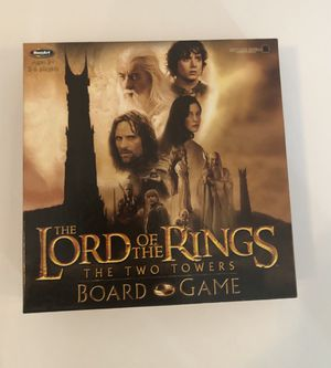 Lord of the Rings - The Two Towers Board Game - new - openned box for Sale in North Las Vegas, NV