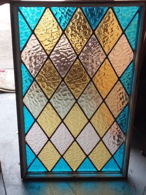 Early 1900s stained glass for Sale in Winchester, KY