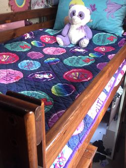 Twin Bed With Storage for Sale in Baldwin Park,  CA