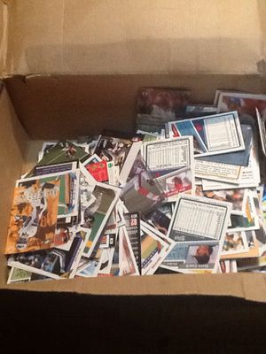 Baseball basketball football cards assorted from late 80s to mid 90s can give u just one sport 40 obo throw m an offer for Sale in Delaware, OH