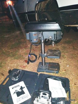 New Drill Press and New Multi Jointer for Sale in Greenville, SC
