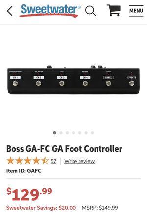 Boss GA-FC GA Foot Controller (EXp Pedal) 🦶 for Sale in Lithonia, GA