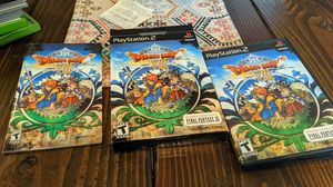 Dragon quest 8 ps2 for Sale in Spanaway, WA