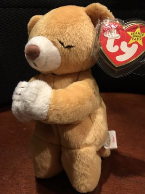 Ty Beanie Babies Original Retired ~Hope~ The Praying Bear Beanie Baby 1998 for Sale in Arnold, MO