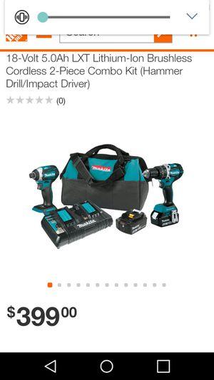 Makita Drill and Impact Kit 18V for Sale in Philadelphia, PA