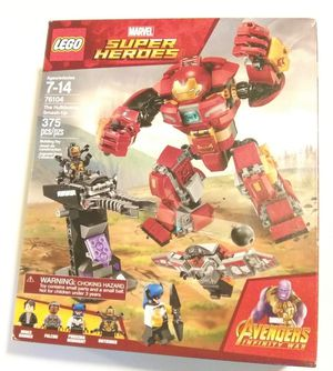 Brand New in Box LEGO 76104 Marvel The Hulkbuster Smash Up for Sale in Renton, WA