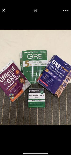 GRE PREP BOOKS for Sale in Miami, FL