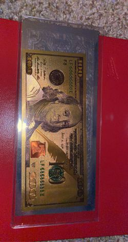 Gold 100 And Silver 1 Bills for Sale in Springfield,  IL