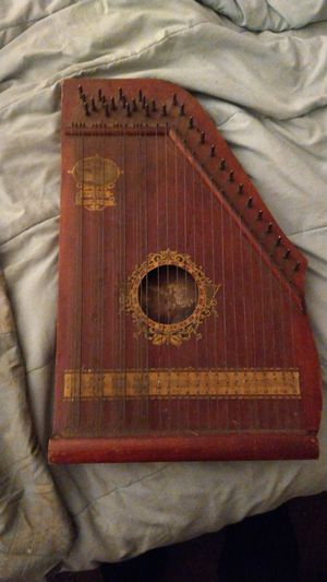 Antique Oscar Schmidt Menzenhauer No. 2 Guitar Zither Sp. Ed. Niagara Model for Sale in East Lyme, CT