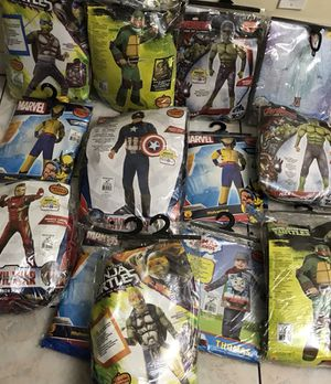 Halloween costumes 15.00 for Sale in Hialeah, FL