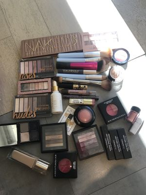 Gorgeous makeup haul MAC FARSALI clarins naked and so much more! for Sale in Beverly Hills, CA