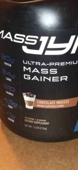 MASS JYM Ultra Premium Mass Gainer Choc Mousse 5 Lb for Sale in Portland,  OR