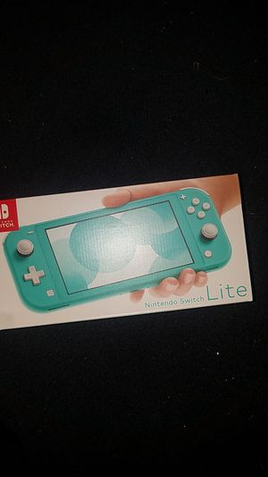 Nintendo switch lite turquoise for Sale in Santa Fe Springs, CA