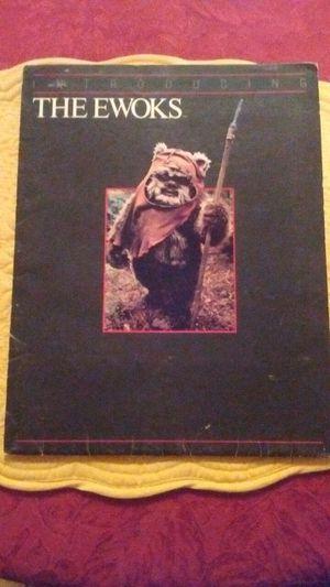 Star Wars Introducing the Ewoks movie manuscript with photos (original) for Sale in Durham, NC