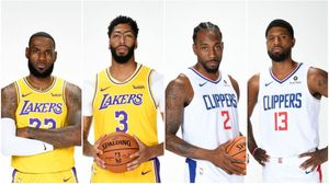 Los Angeles Lakers vs Los Angeles Clippers - Opening Night for Sale in Santa Ana, CA