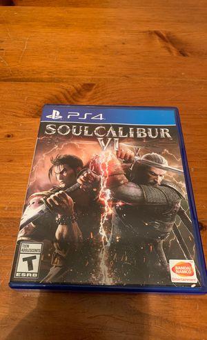 Soulcalibur VI 6 PS4 for Sale in Howell, MI