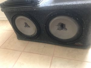 jl audio car sub for Sale in Lanham, MD