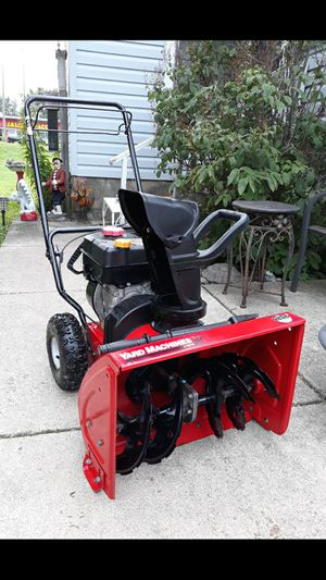 "Yard-Machines 22"" Inch Compact 2-Stage Self Propelled Snowblower for Sale in Aurora, IL"