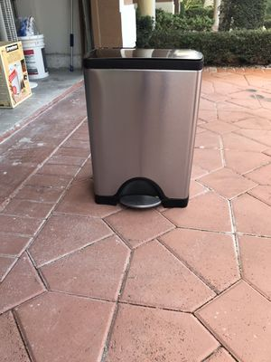 Stainless steel garbage pail for Sale in Boca Raton, FL