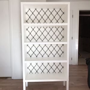 White Bookcase for Sale in Seattle, WA