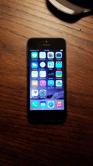 iPhone 5 Black with Case for Sale in Somerville, MA